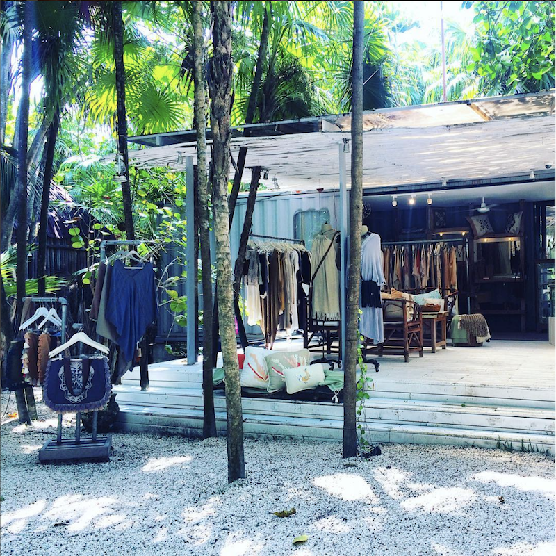 Boutique in Tulum, Mexico