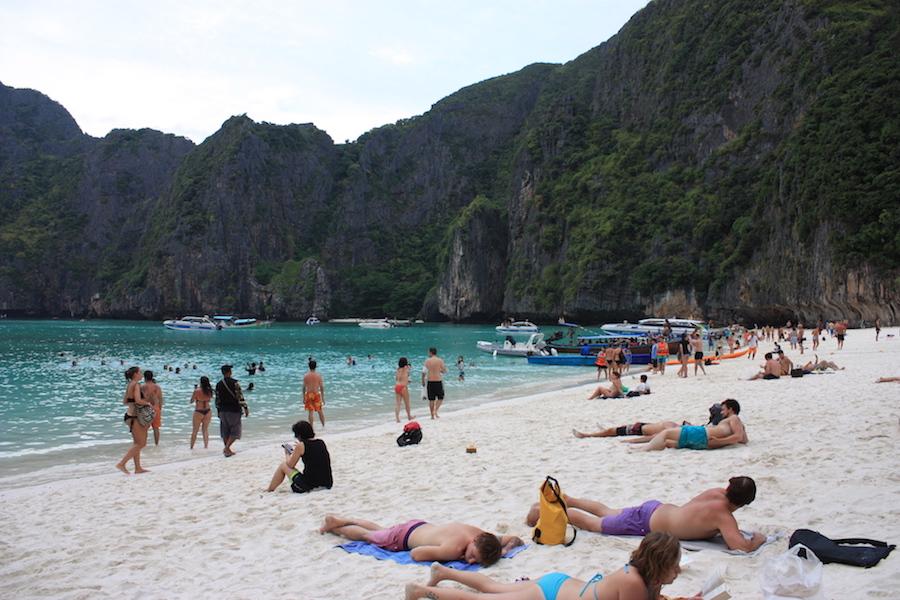 The Beach Maya Bay Thailand