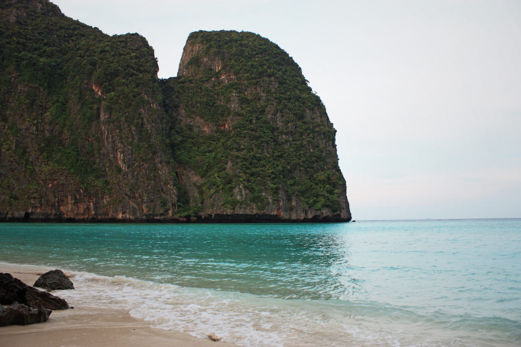 Cliffs at Maya Bay
