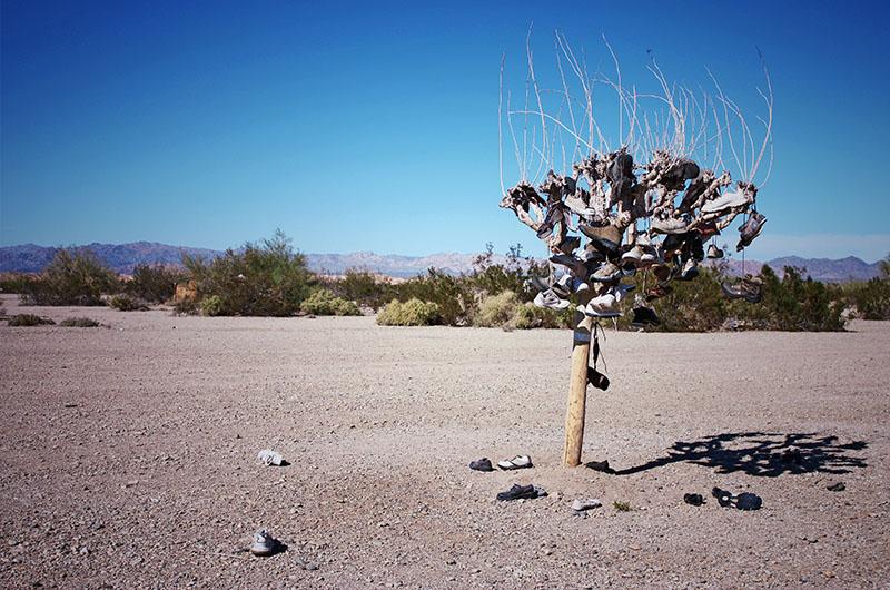 Image of artwork in Slab City Near Salton Sea