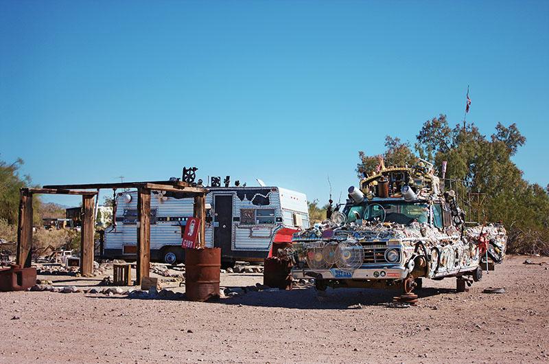Image of Slab City near Salton Sea