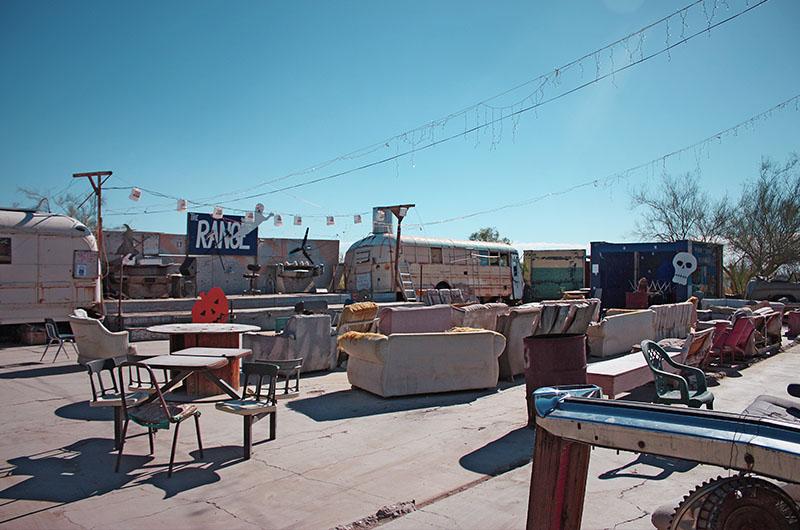 Image of the Range Bar in Slab City
