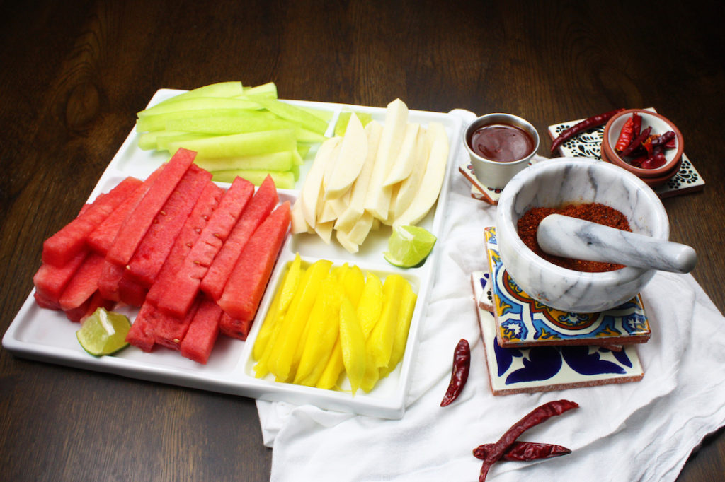 Mexican Fruit Salad Ingredients