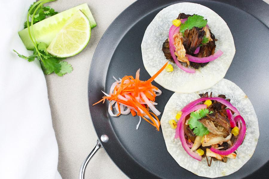 Vietnamese Beef Tacos