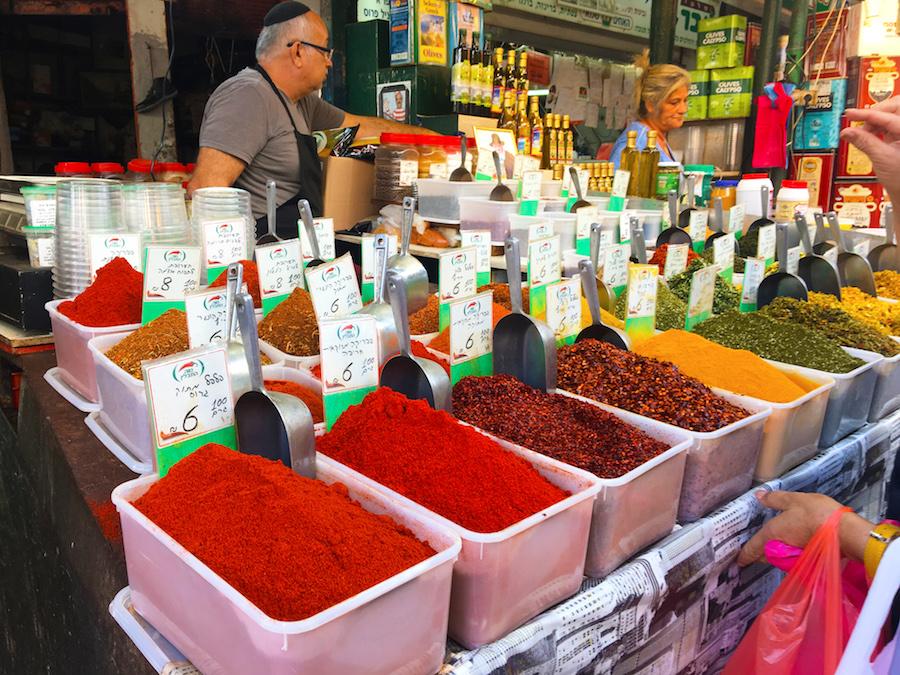 Carmel Market Tel Aviv, Israel