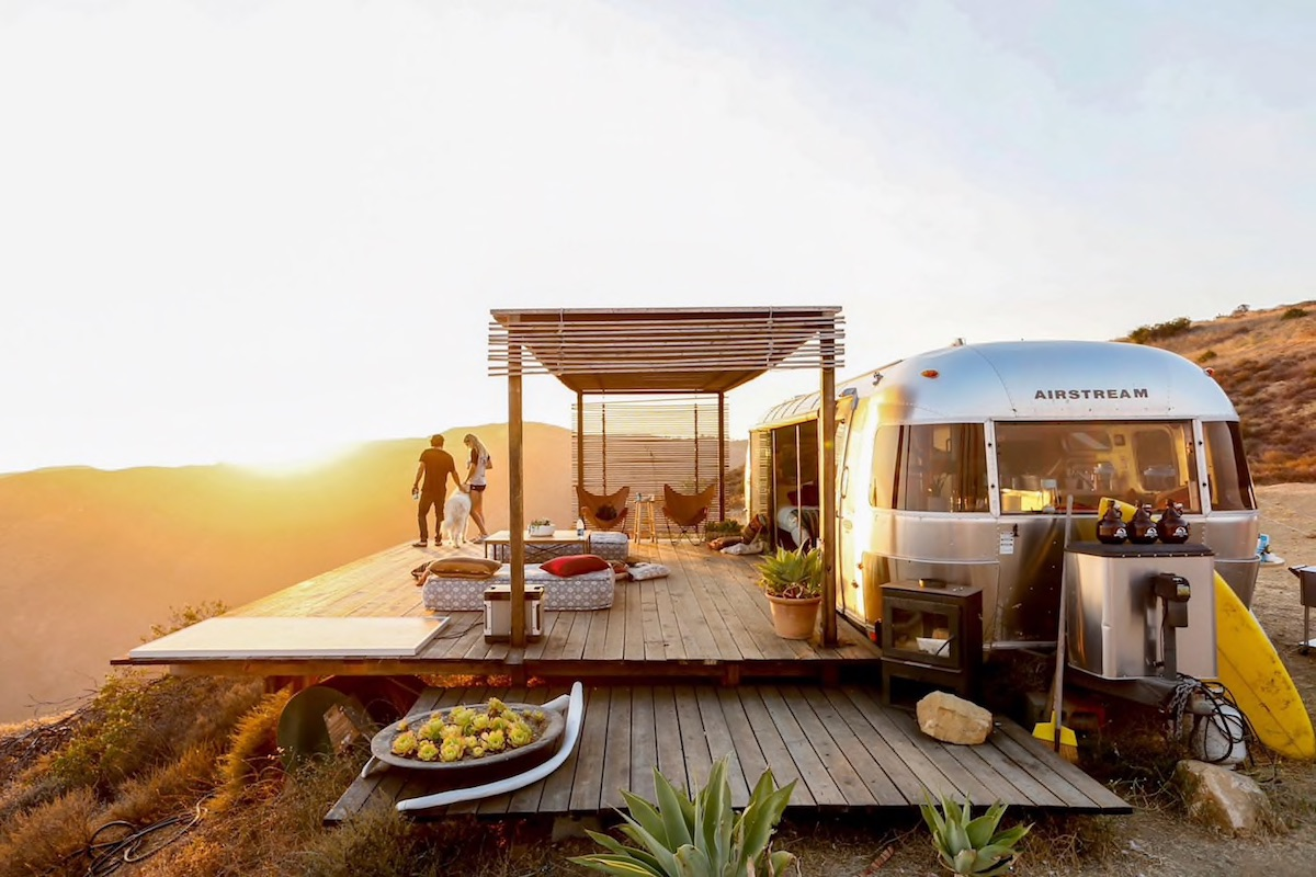 Malibu Dream Airstream AirBnb