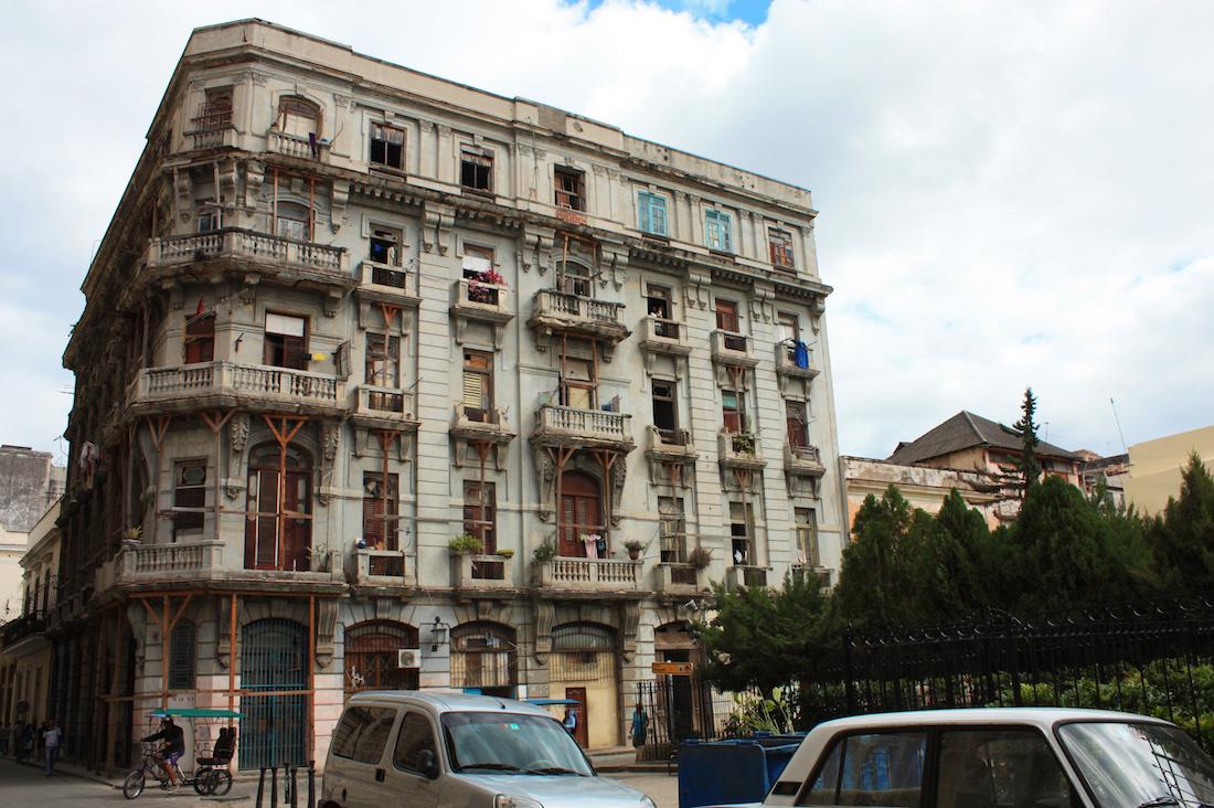 Apartment Building Havana, Cuba