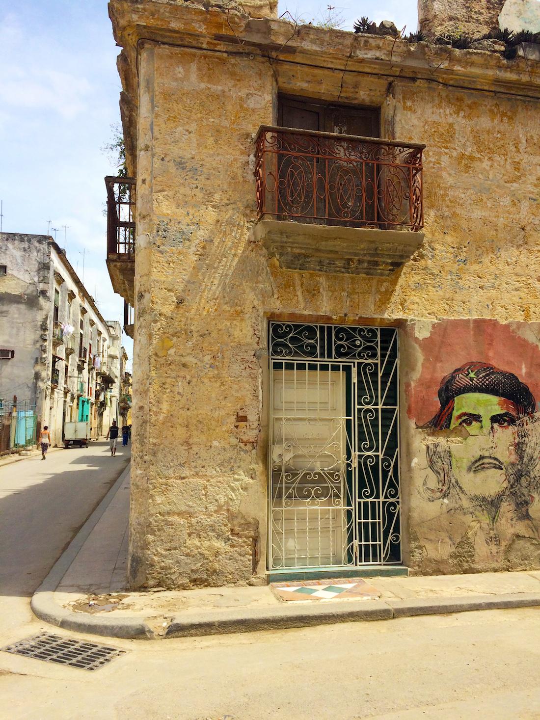 Havana Cuba Mural