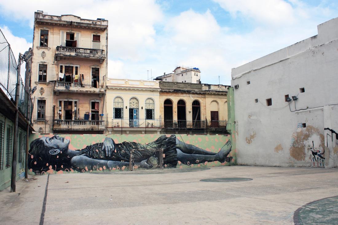 Havana Cuba Art Mural
