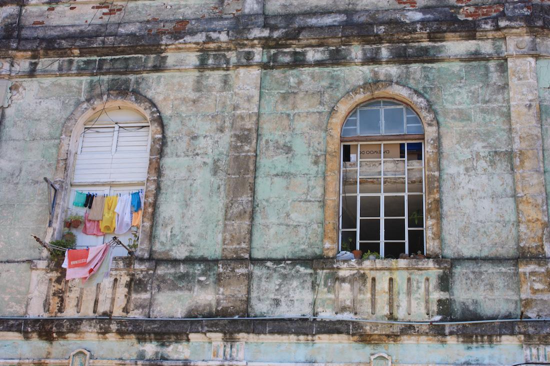 Laundry Line Havana Cuba