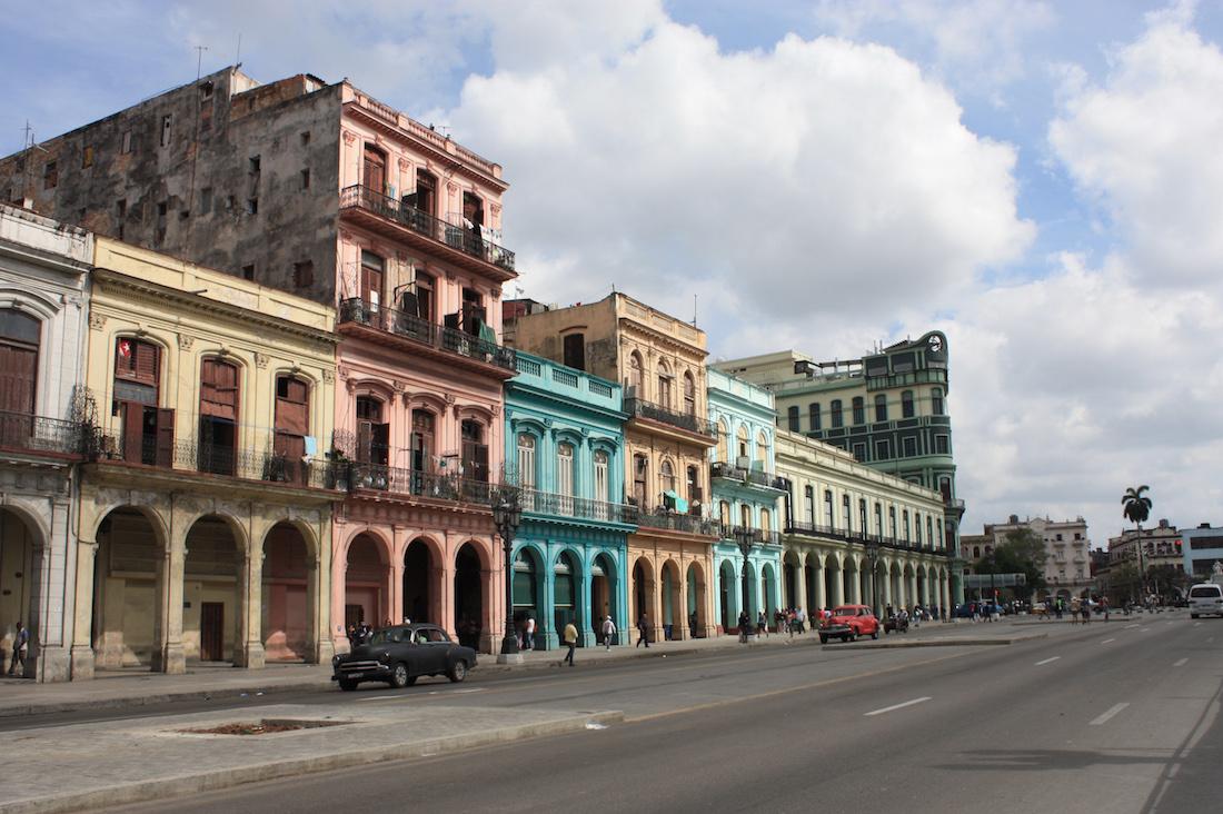 Havana Cuba Main Street