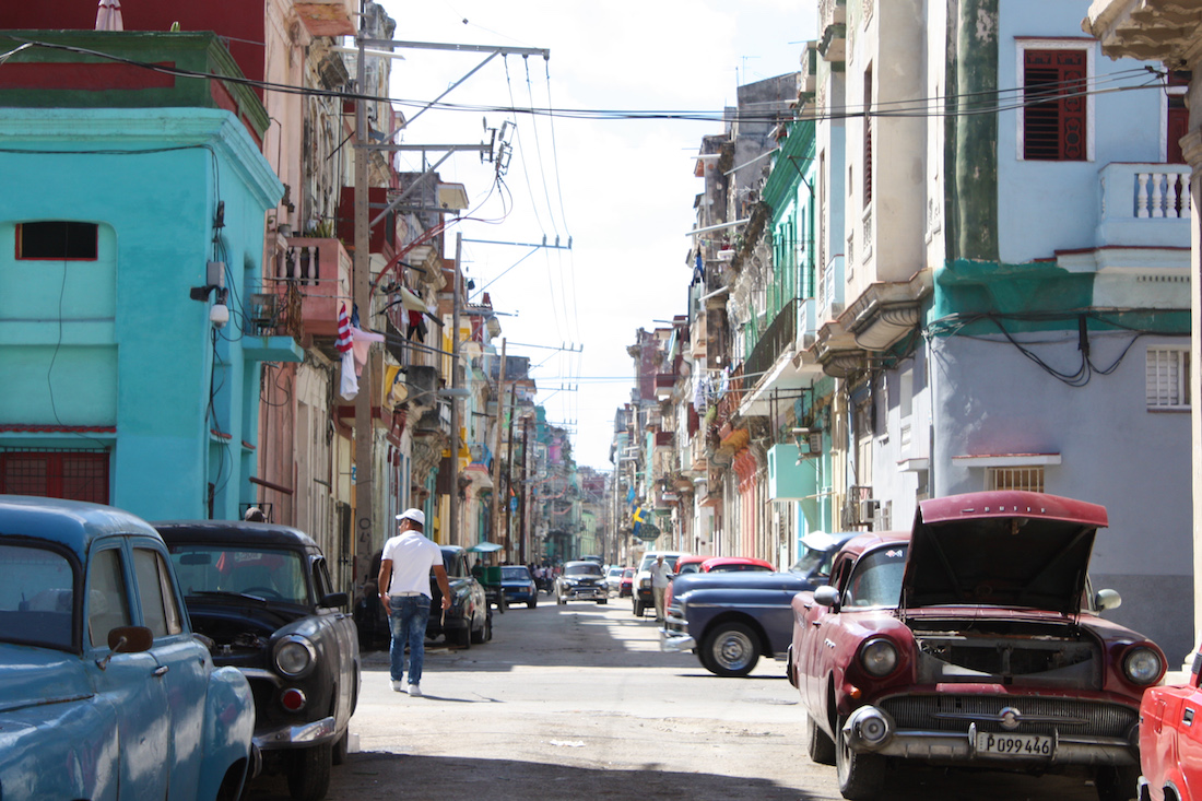Street of Havana Cuba