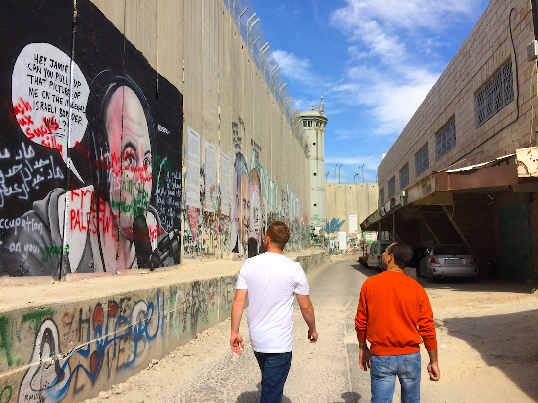 Walking through Palestine, Bethlehem