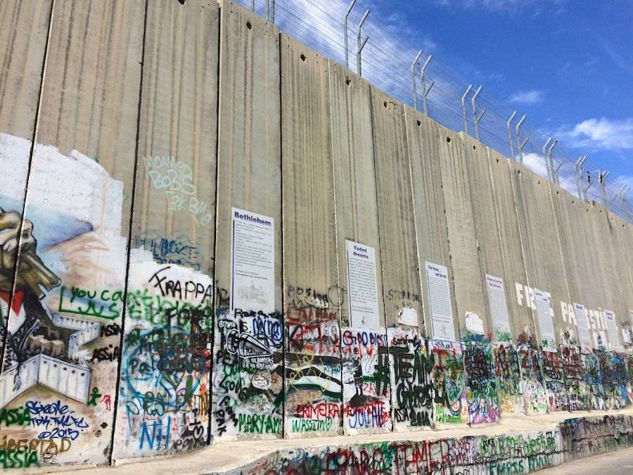 Palestine and Israel Wall