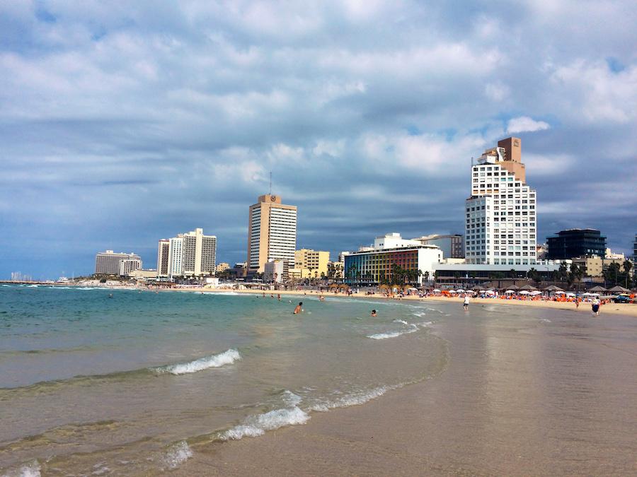 Beach of Tel Aviv, Isreal