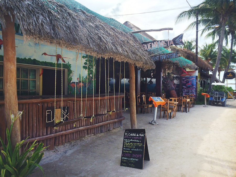 Holbox Island Restaurant Street