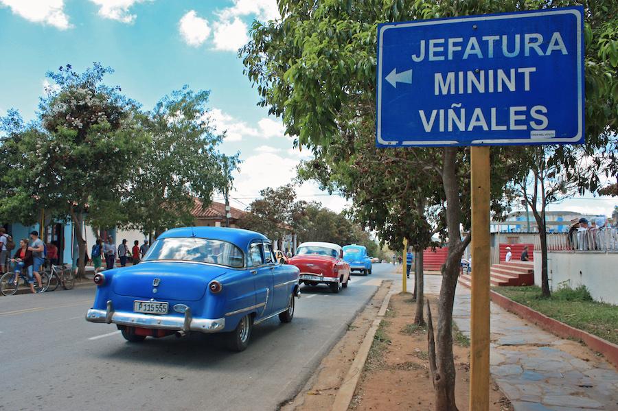 Main Plaza Viñales Cuba