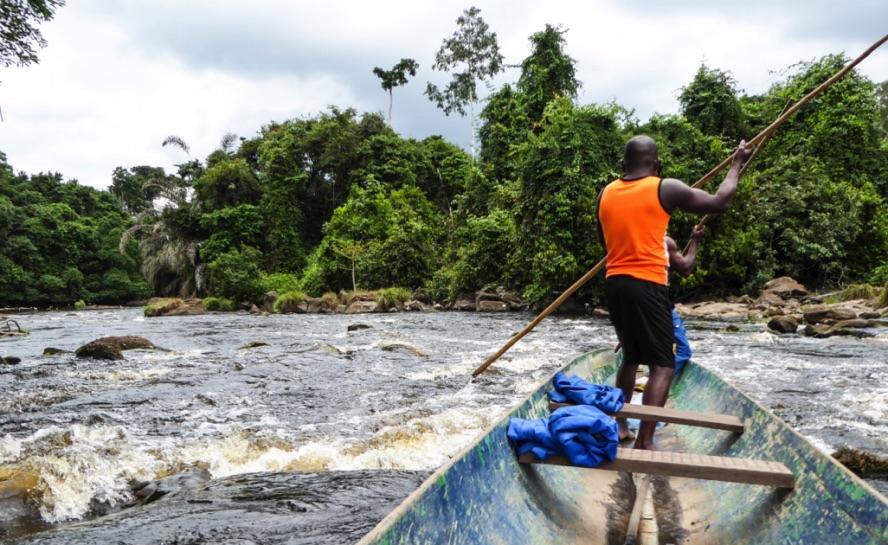 Packraft Gabon Africa