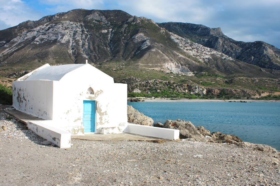 Church in Elafonisi Crete
