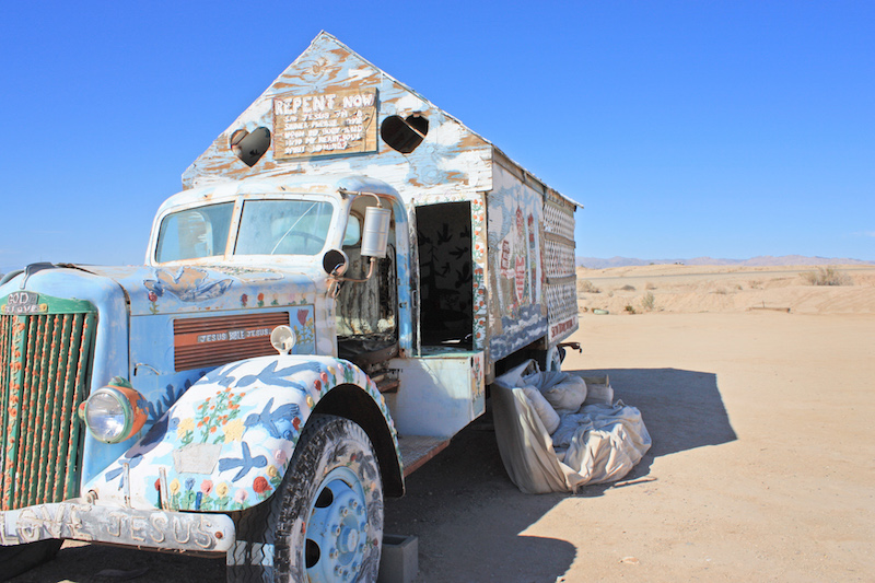Salvation Mountain Attraction