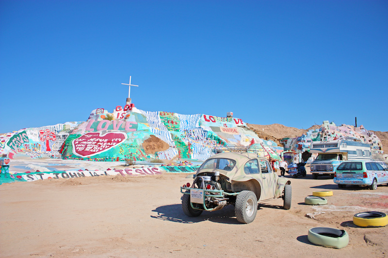 Salvation Mountain Parking Lot