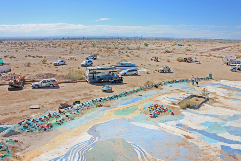 Salvation Mountain View