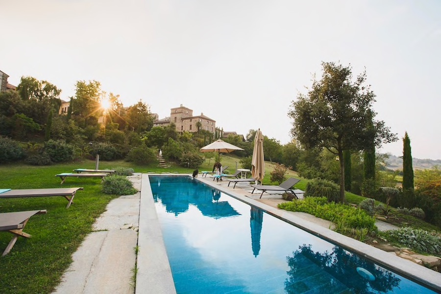 Castle Italy AirBnB