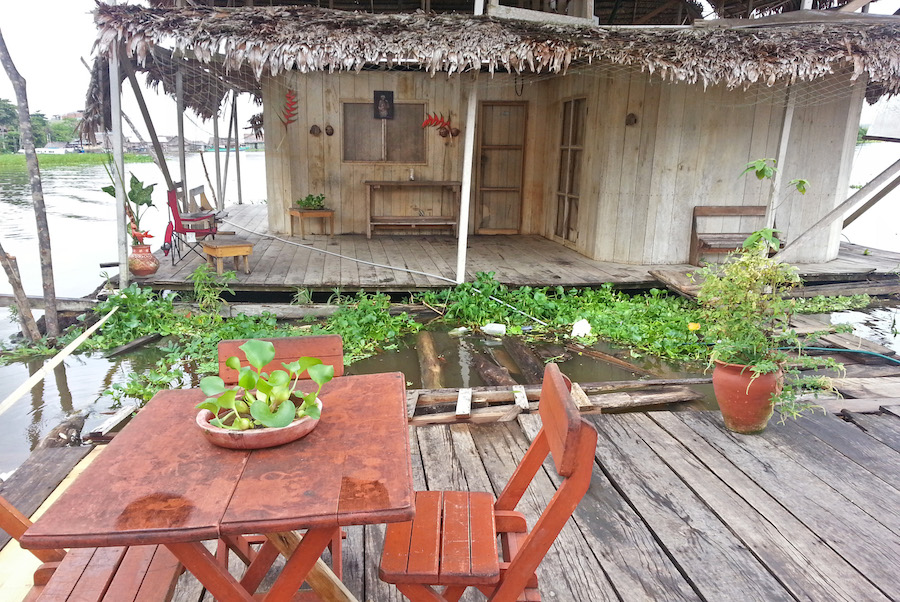 Iquitos Peru Floating Hostel
