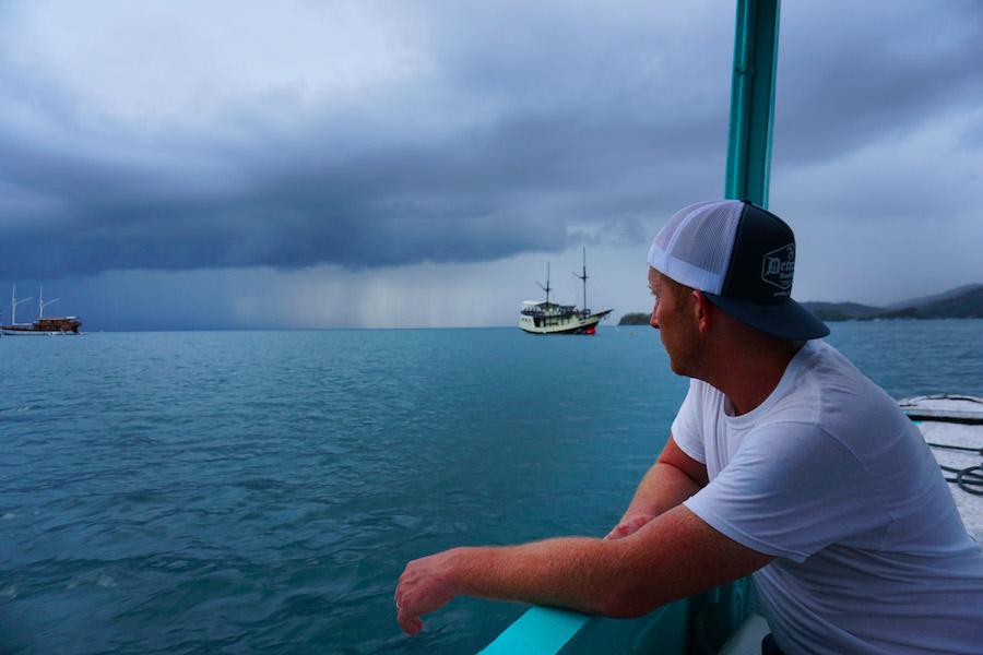 Flores Sea Storm