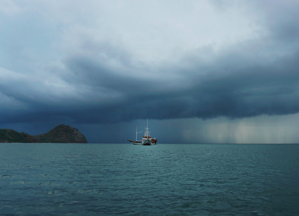 Storm Rolling in, Flores Sea, Indonesia