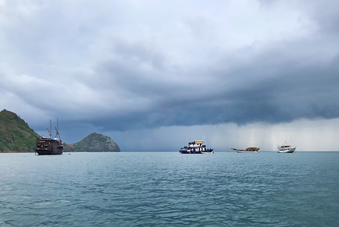 Storm on the Flores Sea