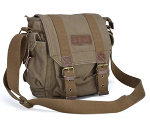 Durable and Stylish Canvas Messenger Bag