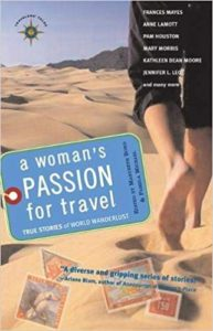 A Woman's Passion for Travel Book