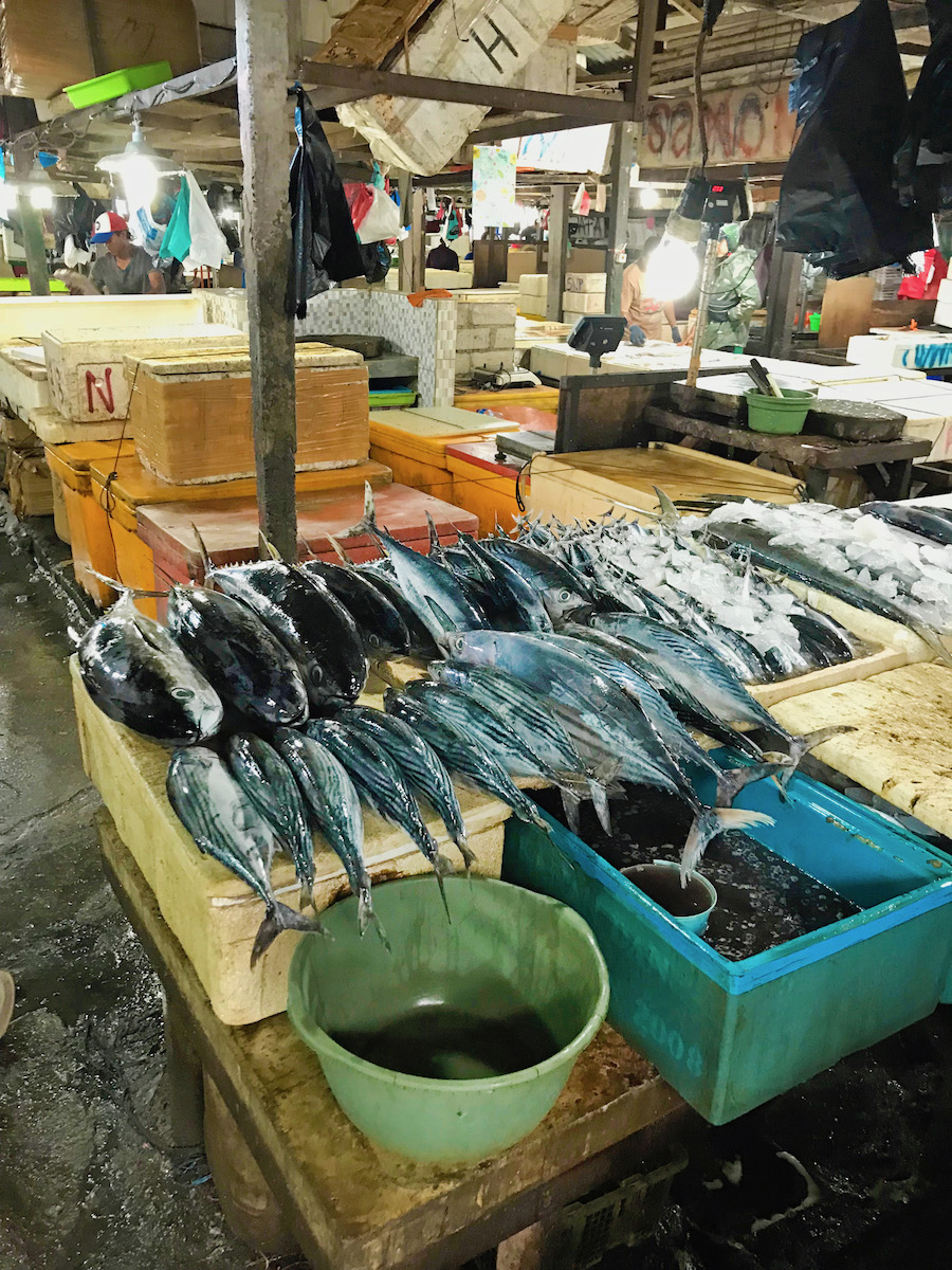 Inside the Kedonganan Fish Market