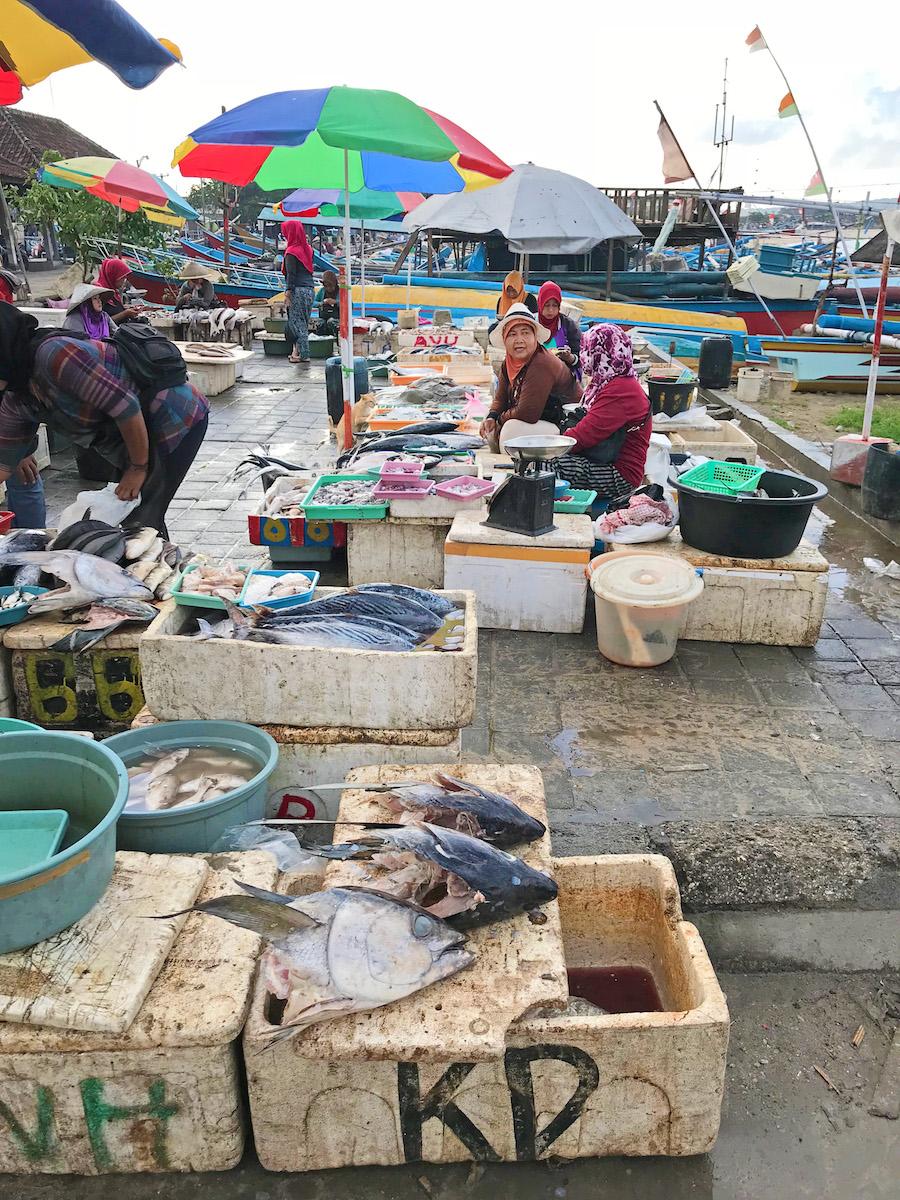 Jimbaran Fish Market Vendors