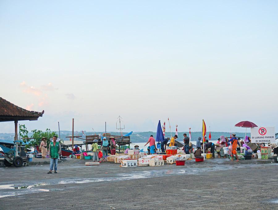 Kedonganan Fish Market Bali