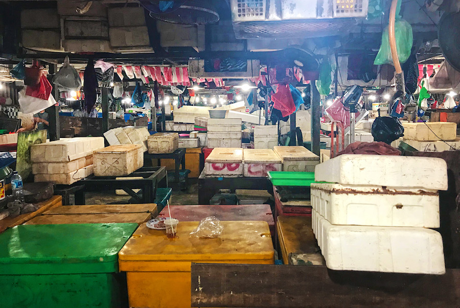 Kedonganan Inside the Fish Market