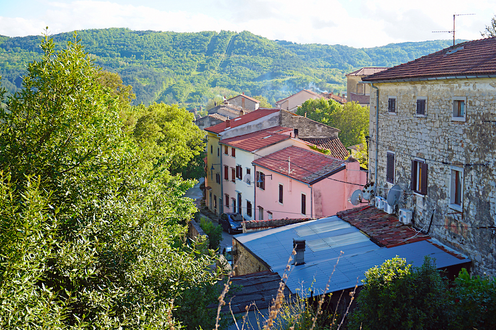 Buzet, Croatia Small Town
