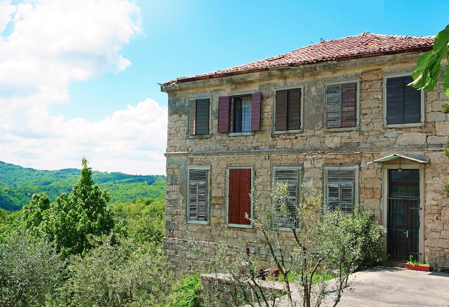 Hum Croatia Stone Home