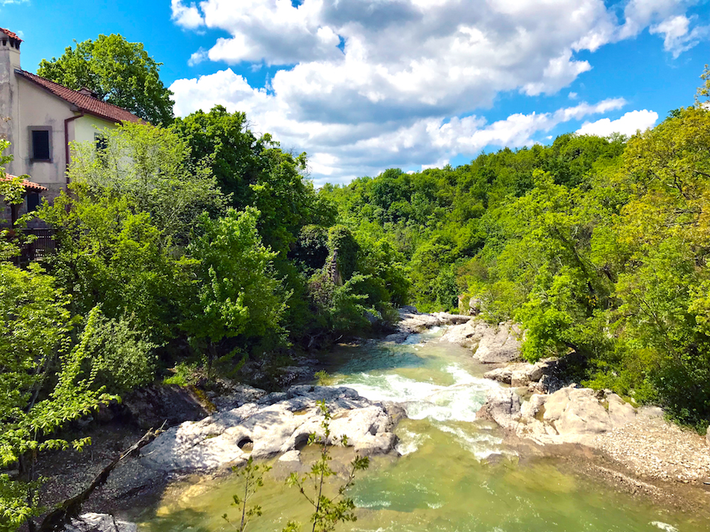 River Kotle, Croatia