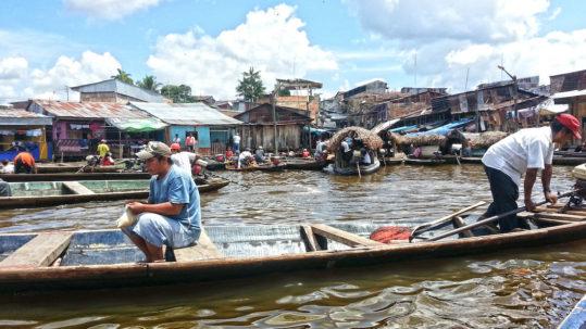 Belen Market in Iquitos Peru