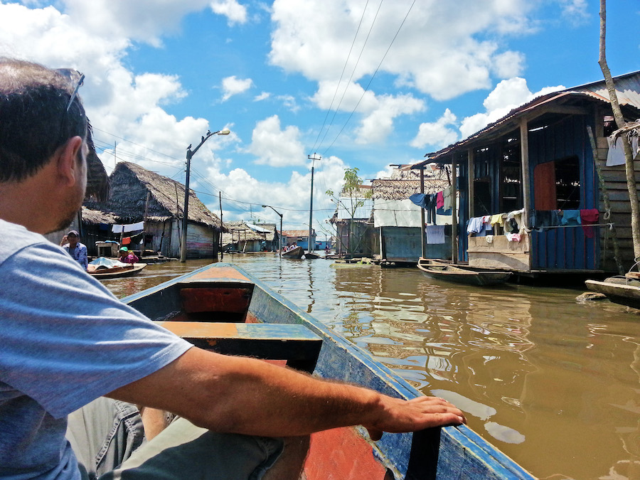 Homes in Iquitos Peru Amazon