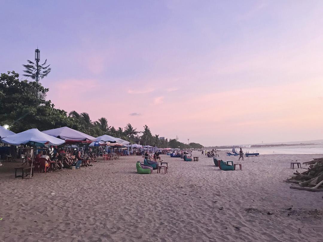 Bali Indonesia Sunset