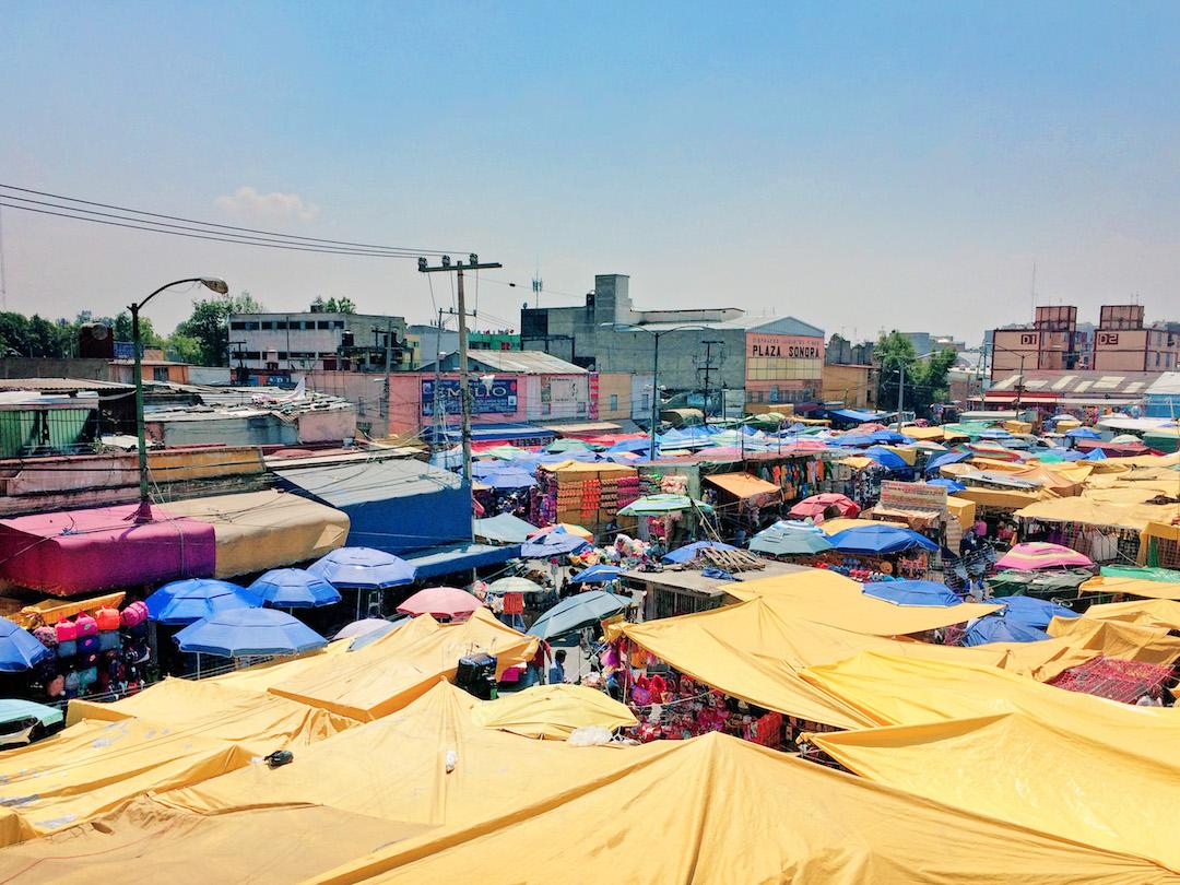Mercado de Senora Mexico City