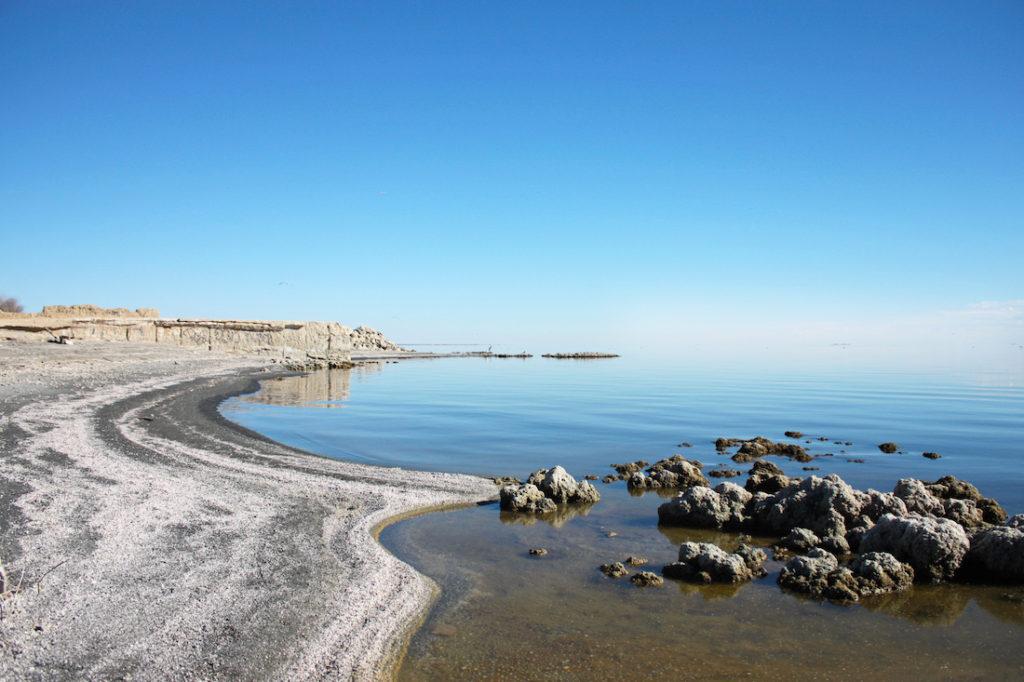 Salton Sea Landscape Rocks