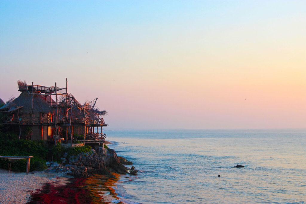 Tulum Beach Sunrise