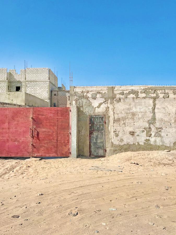 Buildings in Mauritania