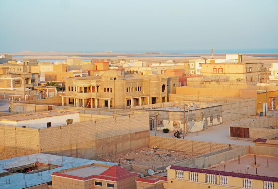 Sunset on Nouadhibou